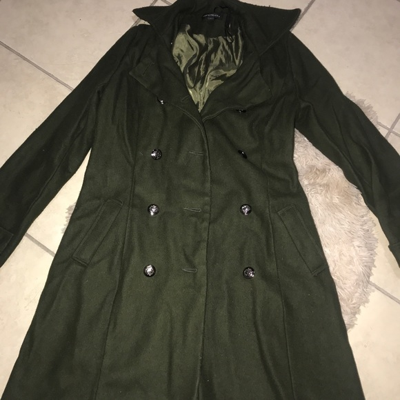 peppe peluso jackets coats green trench coat poshmark